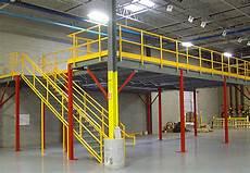 Mezzanine Industrielle Occasion Rack System