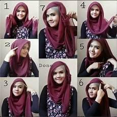 Cara Memakai Jilbab 2 Warna Untuk Pesta Ide Perpaduan Warna