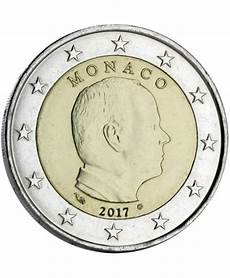 2 euros monaco 2017 pi 232 ce de circulation