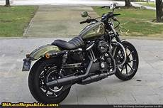 Test Ride 2016 Harley Davidson Sportster Iron 883