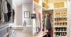 idea cabina armadio organizzare una cabina armadio in un piccolo appartamento