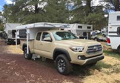 2016 Toyota Tacoma Camper Front  The Fast Lane Truck