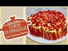 torta margherita con crema pasticcera e fragole torta di fragole con crema e panna strawberry cake youtube