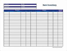 free item inventory sheet wide from formville