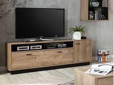 lowboard tv schrank fernsehtisch eiche ribbeck schwarz