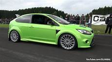 ford rs 430hp ford focus rs wolf racing acceleration with