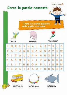 trovare parole con le lettere trova le parole cose per crescere
