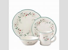 Winterberry 16 Piece Assorted Dinnerware Set (Service for