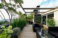 Terrassengestaltung Ideen Modern - dachterrasse dachgarten modern rooftop ideen