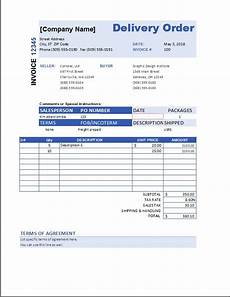 ms word delivery order forms microsoft word excel