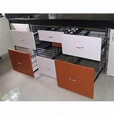 Kitchen Drawers Stainless Steel by Modular Kitchen Drawer In Pune म ड य लर क चन ड र र प ण