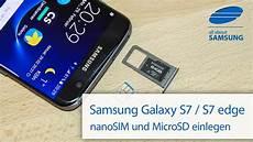 samsung galaxy s7 s7 edge sim karte und microsd karte
