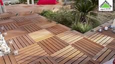 pavimenti in legno esterni come posare un pavimento in legno su basi regolabili