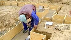 Bau Des Einfamilienhauses Teil 2 Schalung Fundament