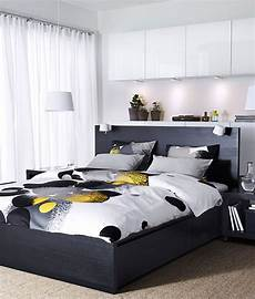 Bedroom Ideas Ikea Malm by Malm High Bed Frame 4 Storage Boxes Black Brown
