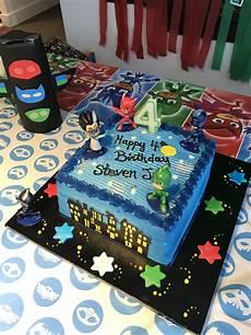 Malvorlagen Pj Masks Cake Pin On Birthday Ideas