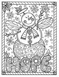 snow instant coloring page
