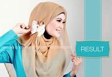 Cara Memakai Jilbab Pesta Baju Kreasi Jilbab