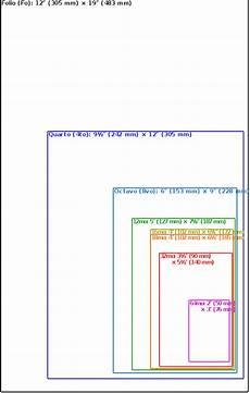 File Comparison Book Sizes Svg