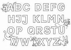 Buchstaben Ausmalbilder Zum Drucken Kostenlose Malvorlage Buchstaben Lernen Buchstaben Lernen