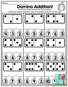 domino subtraction worksheets for kindergarten 10504 domino addition and tons of other printables for october math station activities