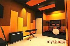 Peredaman Suara Ruang Studio Musik Jasa Pembuatan
