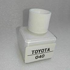 new fast ship for toyota super white ii touch up paint