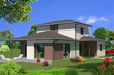 exemple maison moderne delphea contemporaine maisons lara