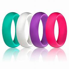 nama 4 pcs silicone rubber cheap lightweight wedding ring band sports for size 5 15