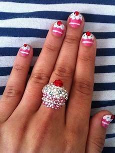 9 beautiful cupcake nail art designs with pictures