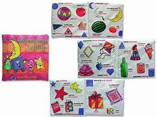 jual buku bantal buku kain soft book mengenal bentuk mainan balita murah bayi anak kretif di