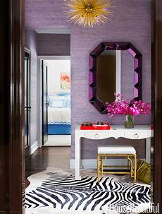 Purple And Gold Home Decor Ideas by How To Get The Look Glamorously Decorated Home Entrances