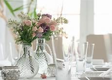 tischdeko vasen glas