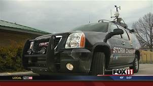 Storm Chaser Vehicle To Help FOX 11 Meteorologists  YouTube