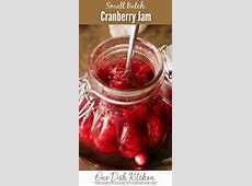 small batch brandied cranberry conserve  canning_image