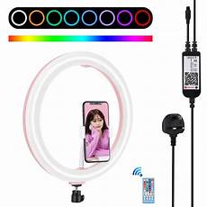 Puluz Pu411f Inches 6500k Rgbw Color puluz pu411f 12 inches 6500k rgbw color dimmable led ring