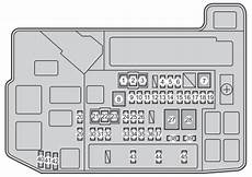 Toyota Prius Xw30 2011 2015 Fuse Box Diagram Auto