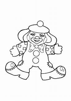 disegno da colorare clown cat 10590