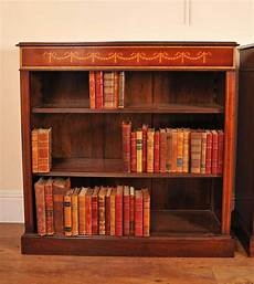 sheraton regency bookcase single open front low bookcases