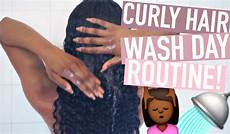 curly hair wash day routine ft unice video black hair information
