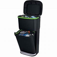 Recycle Kitchen Electronics by Rubbermaid Decker 2 In 1 Recycling Modular Bin With