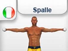 esercizi per spalle a casa alzate laterali con i pesi esercizi allenamento per