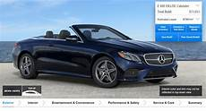Create Your Mercedes E Class Cabrio With Official
