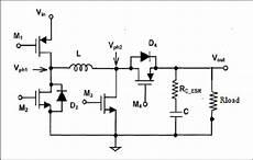 noninverting synchronous dc dc buck boost converter download scientific diagram