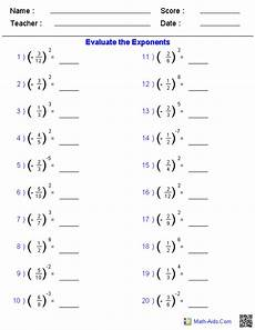 solving fractions with exponents worksheets things to wear fractions worksheets math