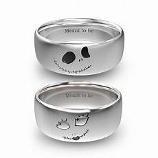 nightmare before christams jack and sally rings in