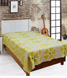 elegance multicolor cotton single bed sheets combo of 2 buy elegance multicolor cotton