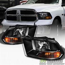 2009 2018 dodge ram black headlights ls replacement