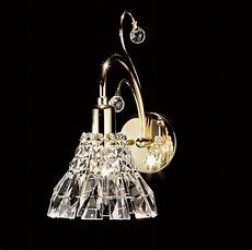 031 crystal wall light 5 quot 1 light crystal shade asfour crystal hilight crystal