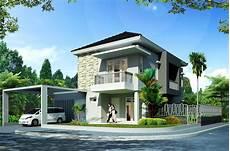 Contoh Desain Rumah Minimalis 2 Lantai Hook Gambar Rumah